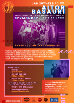 Physical Comedy for Dummies @ Arts at Marks Honolulu | Hawaii | United States