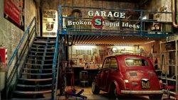Garage of Broken Stupid Ideas - Spit 'n Polish Salon